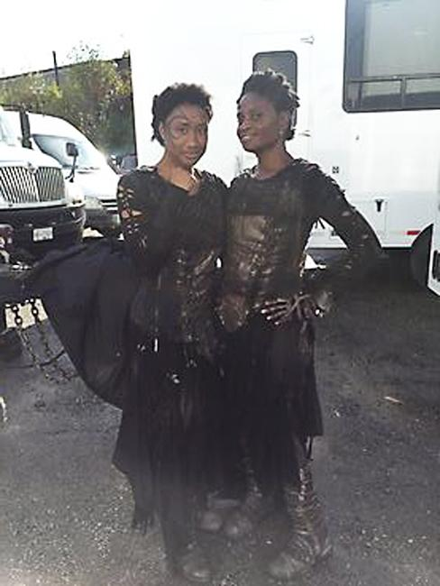 Doubling Adina Porter on The 100