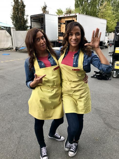 Doubling Dania Fernandez on Once Upon a Time