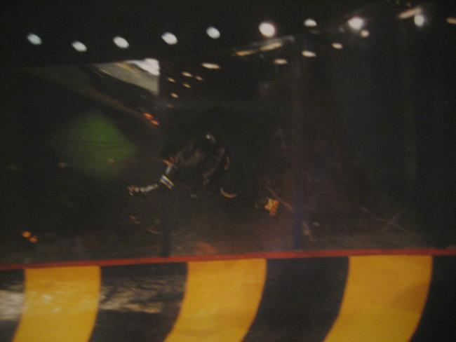 """Rollerball"" wall riding"